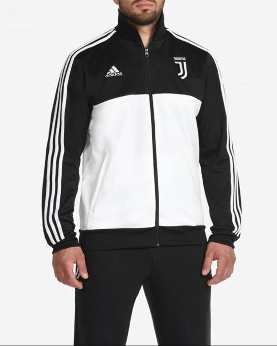Dettagli su Juventus Fc Adidas Giacca Tuta sportiva sport jacket 2019 20 Uomo Nero
