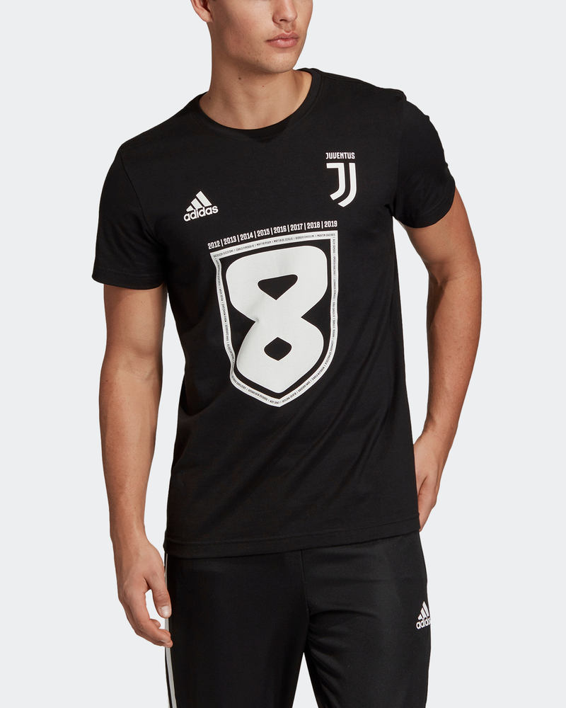 fc51f2d309 Juventus Fc Adidas Maglia maglietta T-shirt Celebrativa 8 scudetti ...