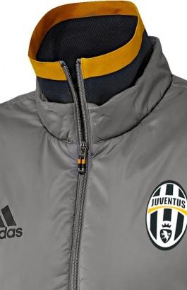Sans Down Manches Jacket Adidas Juventus Gris Doudoune Turin Gilet xTnw0PHq7S