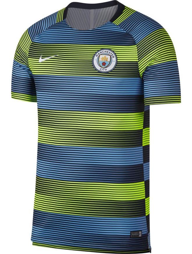 Manchester City Nike Maglia Allenamento Training Shirt pre match dry top GX  2 3 3 sur 4 ... 9d91c7423079f