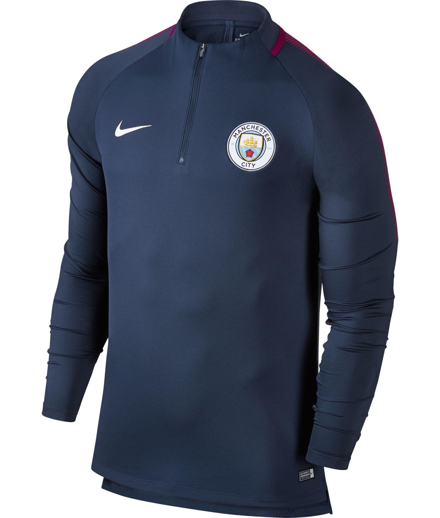 Manchester-City-Nike-Felpa-Allenamento-Blu-2017-18-Drill-Top-mezza-zip