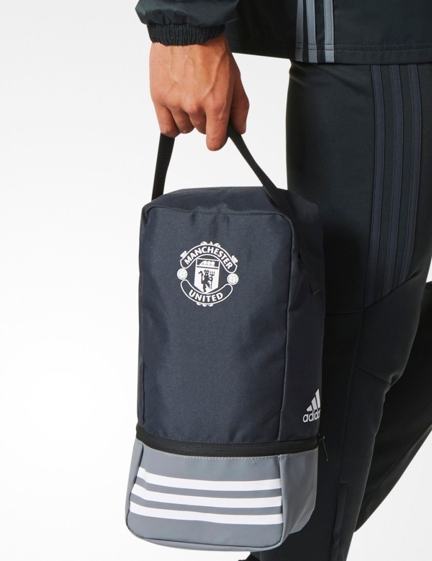 Manchester-United-Adidas-Borsa-Porta-Scarpe-Shoebag-Schuhtasche-