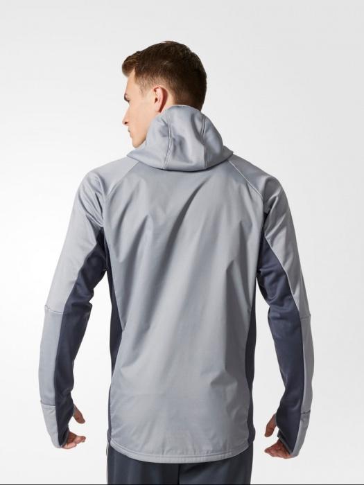 ... Manchester United training Sweatshirt WARM Grey adidas Training TOP  Original 2017 18-Man Sweatshirt Manchester ... aecedeabc6c4