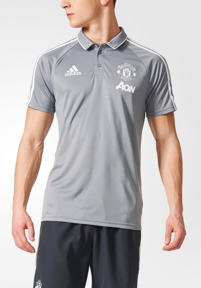Manchester-United-Adidas-Formotion-Polo-Maillot-Shirt-2017-18-stretch-Homme