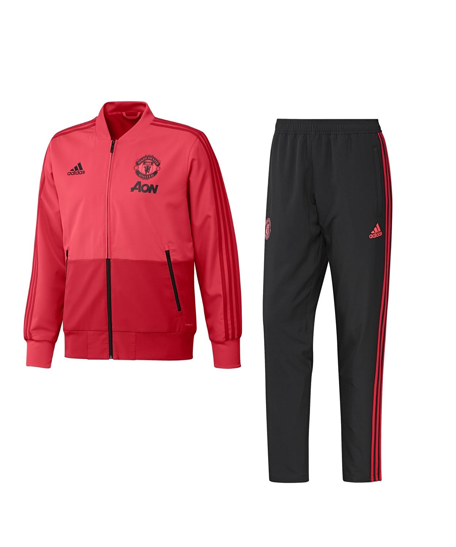b18ca07aee9fd Manchester United Adidas Chándal Selección Pres Tracksuit Rojo 2018 ...