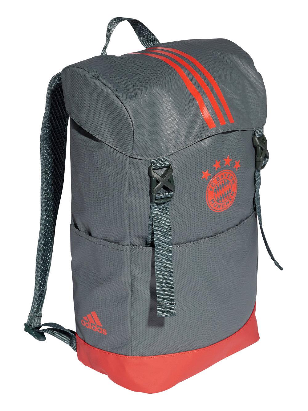 Espressive Bayern Monaco Adidas Zaino Backpack Rucksack Tg Unisex Grigio 2019