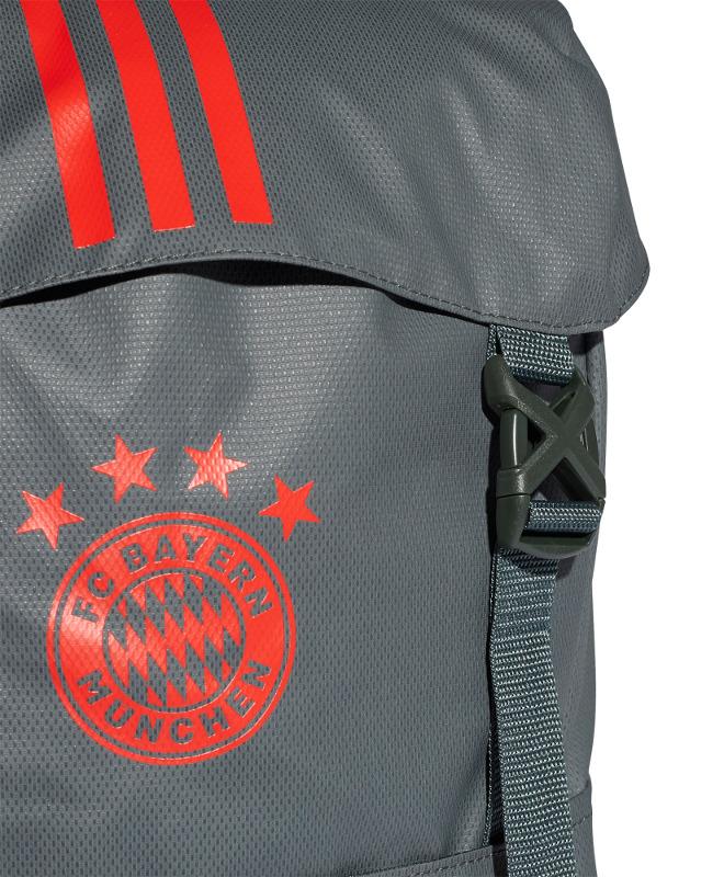 4ee1f6e529 Bayern Monaco Adidas Zaino Backpack Rucksack tg Unisex Grigio 2019 ...