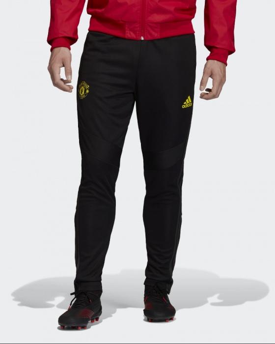 Détails sur Manchester United Adidas Pantalon De Survêtement Pants Hose 2019 20 Training