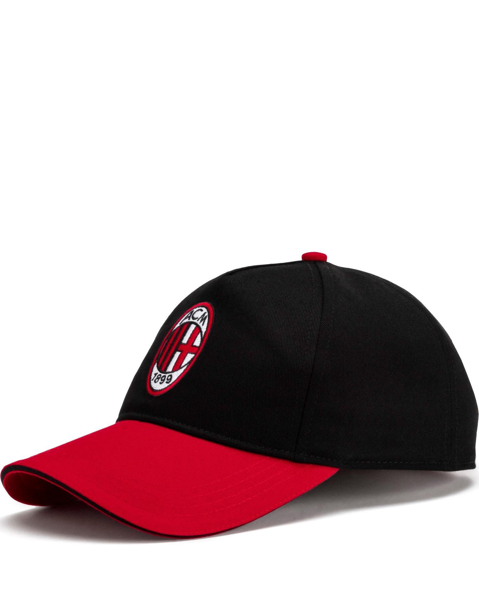 AC MILAN PUMA Cappello Berretto Hat tg tg Unisex Nero Cotone 2019 20