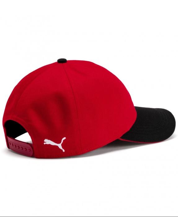 Ac Milan Puma Cappello Berretto Hat tg Rosso Cotone 2019 20