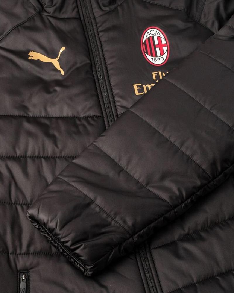 Ac Milan Puma Piumino Giubbotto Giaccone Long jacket 2018 19 versione Panchina