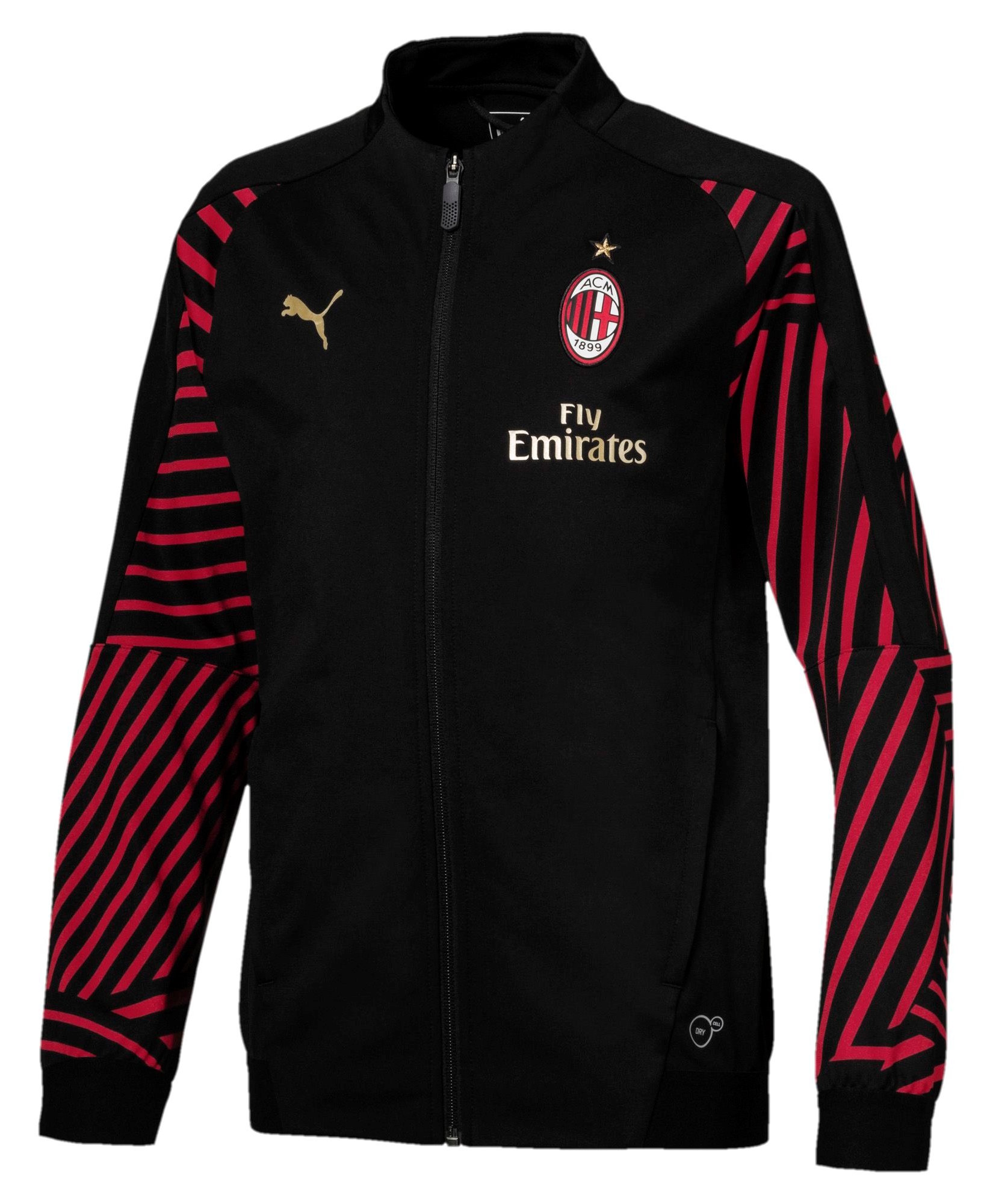 19b8e9531c033 Ac Milan Puma Giacca Tuta Pre Gara Pre Match Jacket Stadium Bambino ...