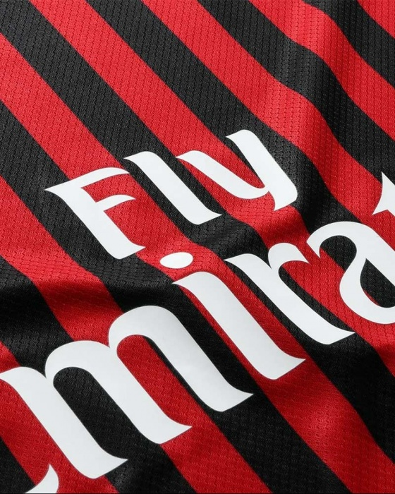 A. C. Milan Puma Camiseta Shirt Match 2019 20 Home Authentic