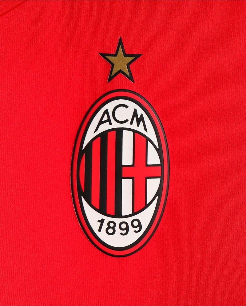 Ac Milan Puma Maglia Allenamento Training Pre match Stadium WARM UP UOMO Rosso