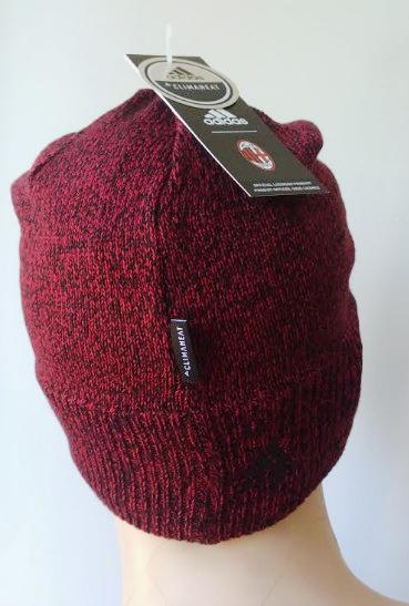 Milan Di Cappello Lana Rosso Originale Beanie Invernale Adidas 7UBwdxBqaz