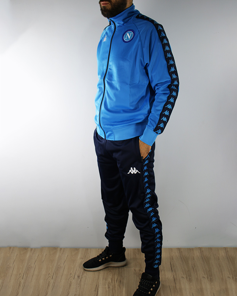 SSC Napoli Kappa Leisure Tracksuit Limited Edition version Season ... 021d3981d93d3