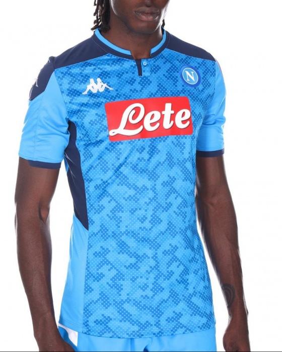 SSC NAPOLI Maglia Gara Portiere Home 2019//2020 Camiseta De Juego Hombre