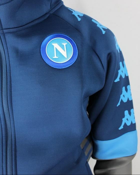 Napoli Jacket Grau 20 Details Naples Kappa Jacke Neopren 2019 Neapel Pre Match Zu Ssc rxBoedC