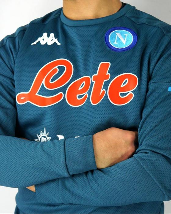 Maglie da calcio SSC Napoli Naples Kappa ALDRENO 4 Felpa ...