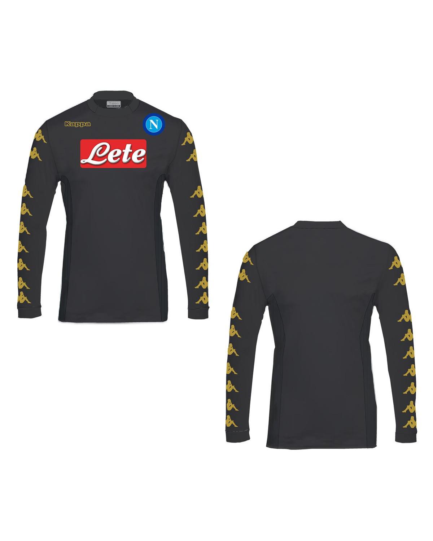 bb1408a5a5b SSC Napoli Naples Kappa KOMBAT™ SKIN Jersey Shirt Match issue Long