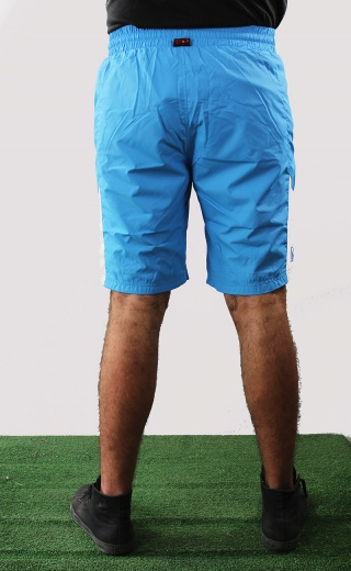 Ssc napoli naples kappa shorts hose zip pockets blue 2016 17 woven running | eBay