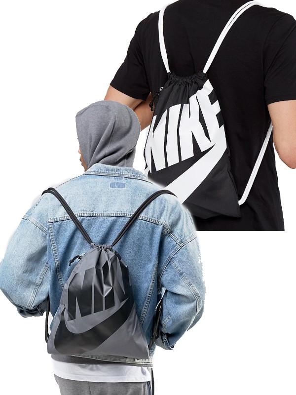e6dd84b337b47 Heritage Sportswear Nike Turnbeutel Rucksack Gymsack Unisex 100% Poliestere