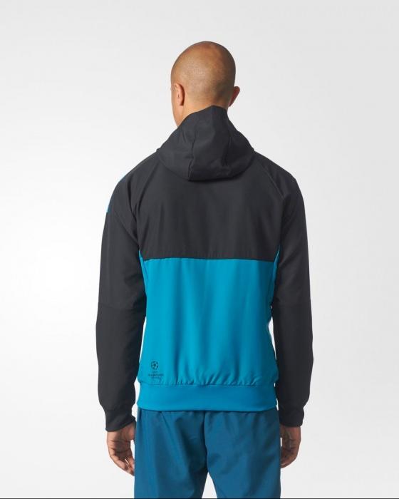 ... Adidas originales chaqueta Real Madrid Uefa Champions League  presentación 2017 18-hombre chaqueta presentación Real 5ae69e13253ab