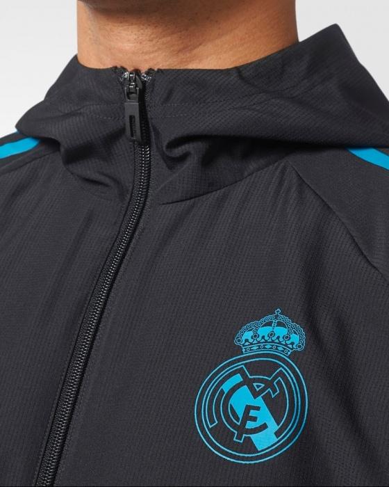 5857761da2d44 ... Giacca Presentation Real Madrid Uefa Champions League Originale adidas  Uomo 2017 18 - Presentation Jacket Real ...