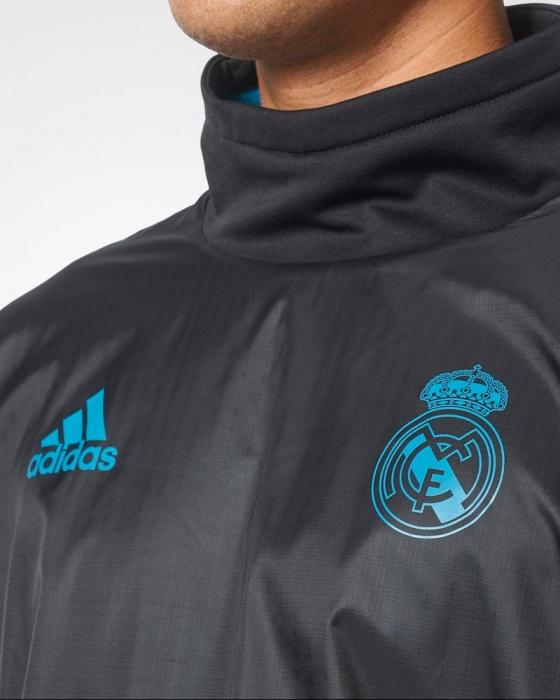 90fad8398b0 ... Felpa Allenamento Real Madrid Uefa Champions League adidas Originale  Hybrid Top Uomo 2017 18 - Training ...