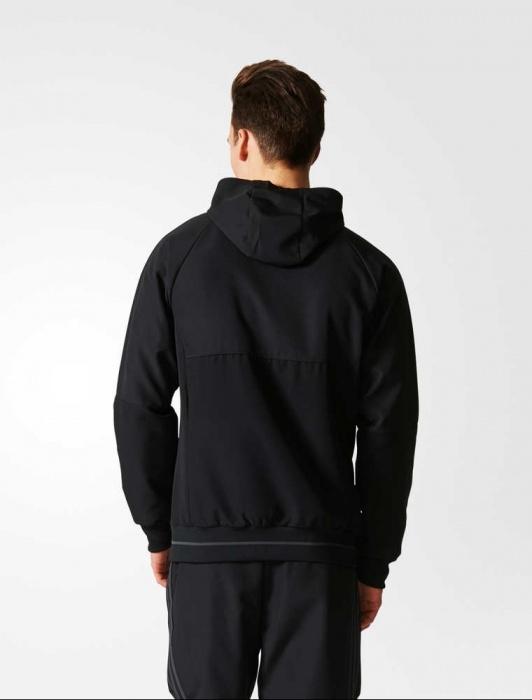 ... Adidas originales chaqueta Real Madrid representante hombre negro-2017  18 presentación chaqueta Real Madrid adidas 8a4abee351c82