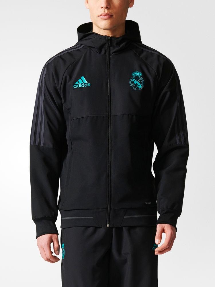 Chaqueta de Chaqueta entrenamiento Adidas Real Madrid Madrid Negra Presentación Normal Normal 2017 18 6648cc1 - itorrent.site