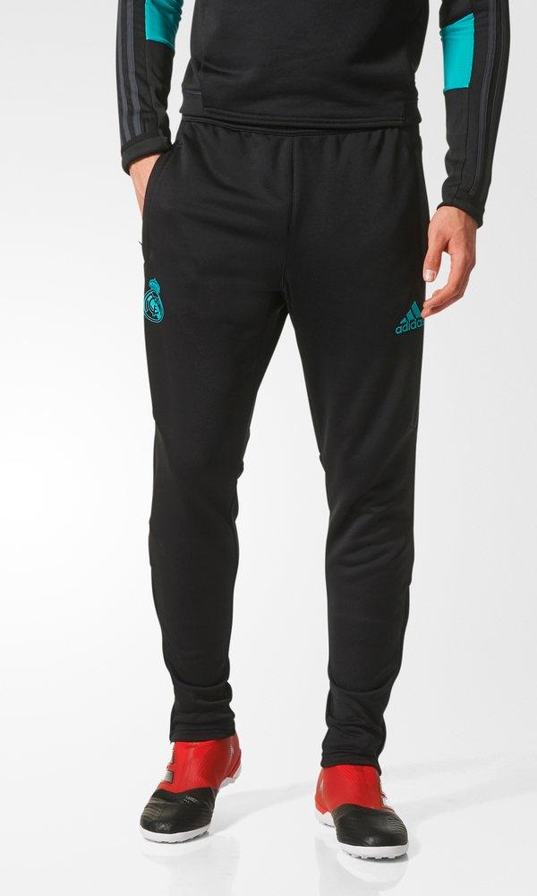 Bq7931 Pantalon 18 Real 2017 Pants Noir Track Hose Madrid Adidas g040Zz