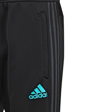 ... Original adidas Real Madrid negro 2017 18 hombre pantalones de  entrenamiento con cremallera bolsillos-formación ... aef06f5b41c9d