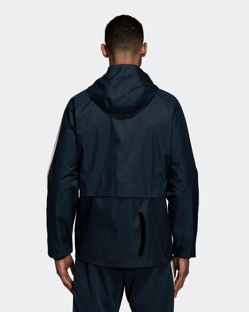 Bleu Vent Pluie Real De Adidas Coupe Madrid Jacket All Veste Weather wvHxqTS