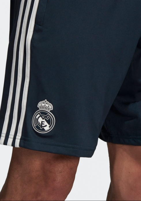 Real Madrid Adidas Pantaloncini Shorts Training Blu 2018 19 | eBay