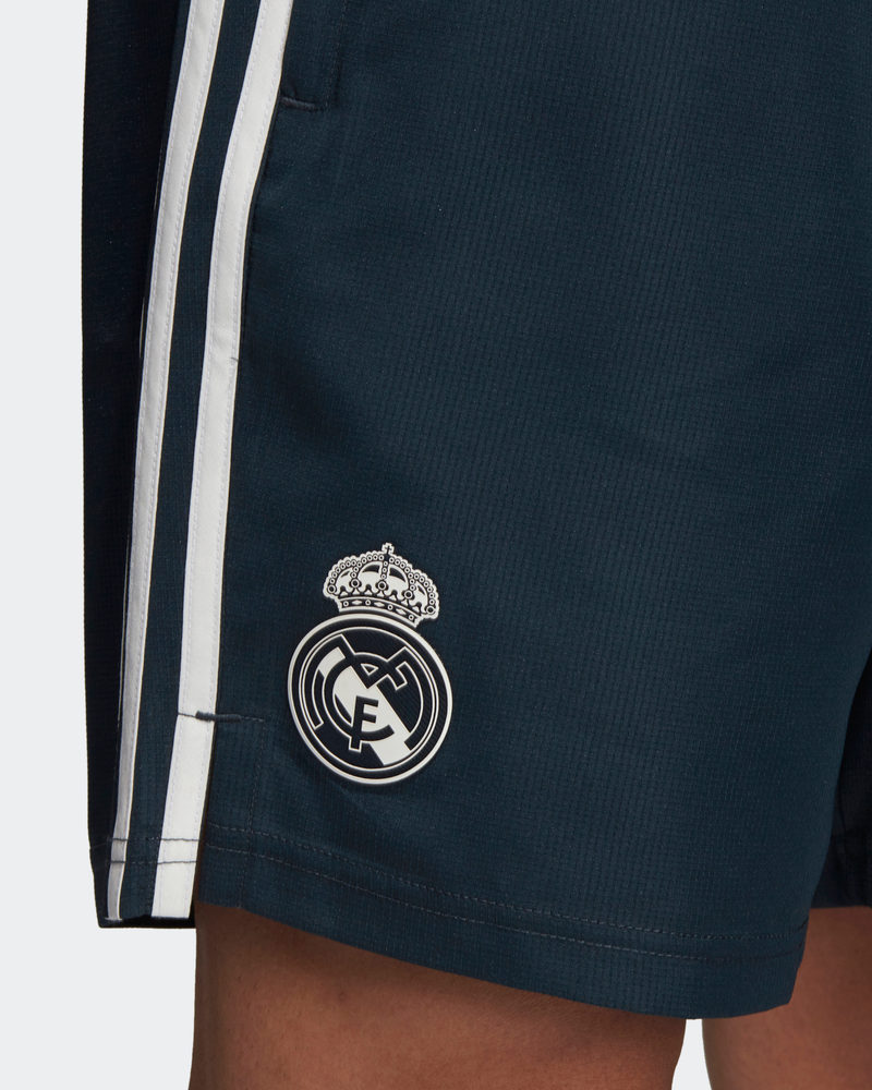 Real-Madrid-Adidas-Pantaloncini-Shorts-Hose-Woven-Blue-2018-19