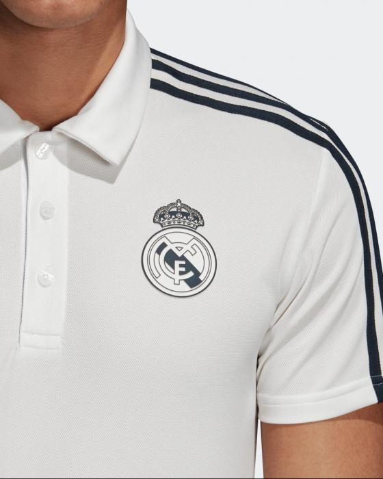 0f4e8bd964037 ... Adidas Climalite Polo blanco Original 2018 19 Real Madrid-Real Madrid  de adidas Hombres Polo