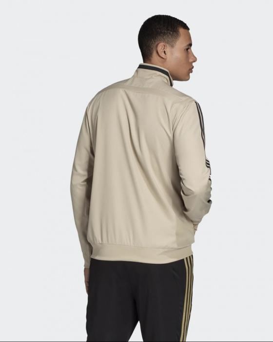 Détails sur Real Madrid Adidas Sport Suit Jacket Veste présentation Homme Beige 2020