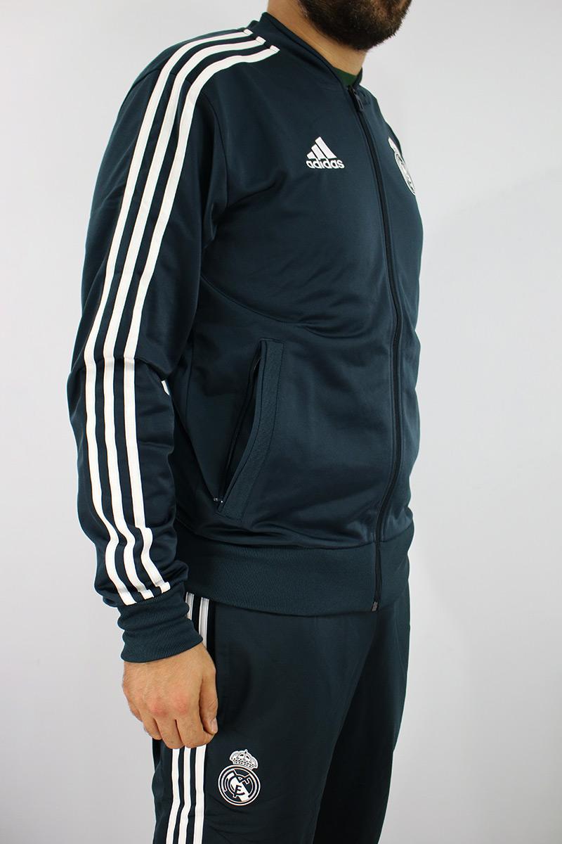 Real Madrid Adidas Traje Entrenamiento Training Tracksuit 2018 19 ... 21606d60d6214