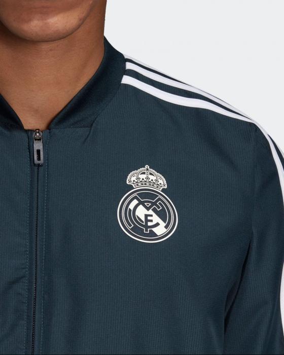 8690925d82c ... Woven survêtement Adidas original 2018 19-Man présentation Real Madrid  bleu tissé survêtement Real Madrid ...