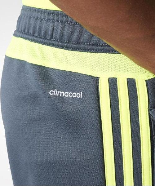 pretty nice d189d 0510c Real-Madrid-Adidas-Pantaloni-tuta-Pants-Training-Grigio-