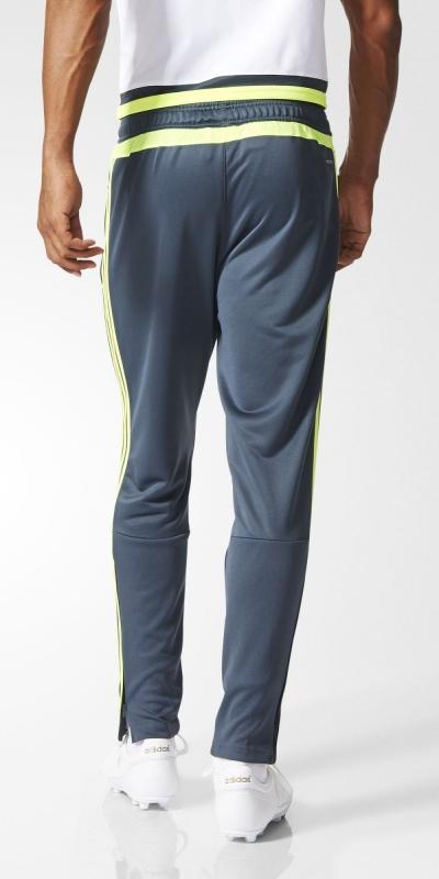 ... Pantaloni Allenamento Real Madrid Originale adidas Uomo 2015 16 Grigio  Tasche con zip - Training Pants ... 4daff7716cd