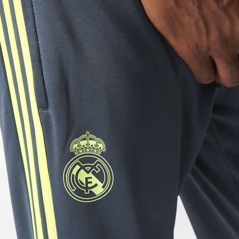 Pantaloni Allenamento Real Madrid Originale adidas Uomo 2015 16 Grigio  Tasche con zip - Training Pants ... 6cebc060d41