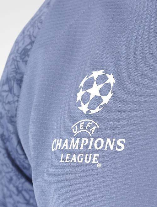 7f198d902 UEFA Real Madrid Adidas Felpa Allenamento Training Sweatshirt Azzurro 2016  17