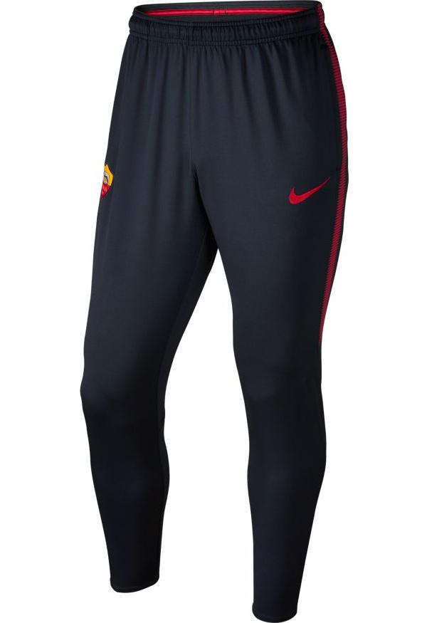 c8a62ecb32 As Roma Nike Track Pants Hose Navy Training Dry Squad 2017 18   eBay