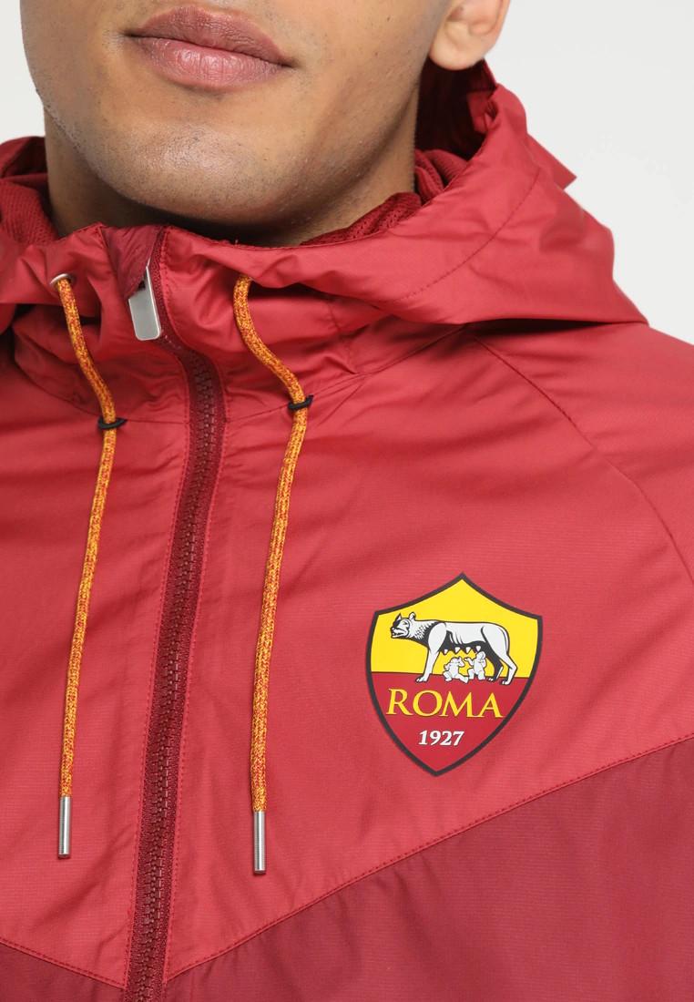 6fc5dcb8da1ba As Roma Sportswear Veste Sport Jacket Rouge Windrunner 2018 19 4 4 sur 7 ...