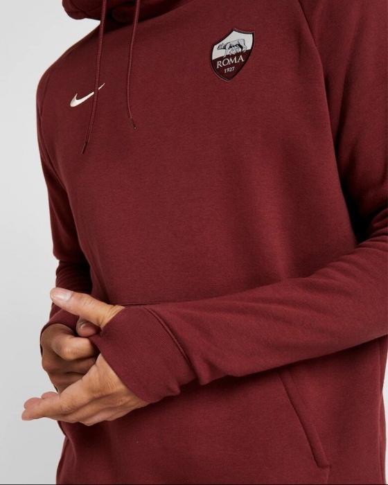 Nike A.S. Roma Men's Fleece Pullover Hoodie CI6462 619