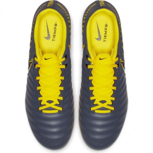 ... Scarpe Calcio Nike Tiempo Legend 7 Academy FG Vera Pelle Grigio -  Football Boots Shoes Nike ... 717328d2b02
