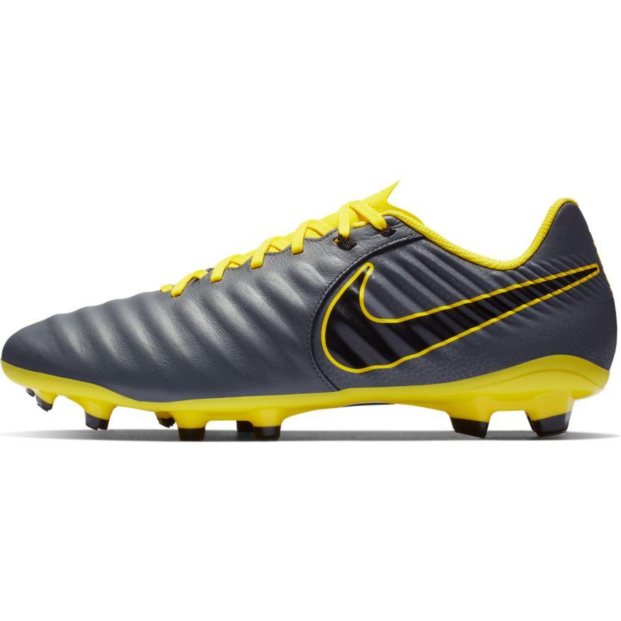newest df90b f97e6 Nike Scarpe Calcio Tiempo Legend 7 Academy FG Grigio Vera pelle