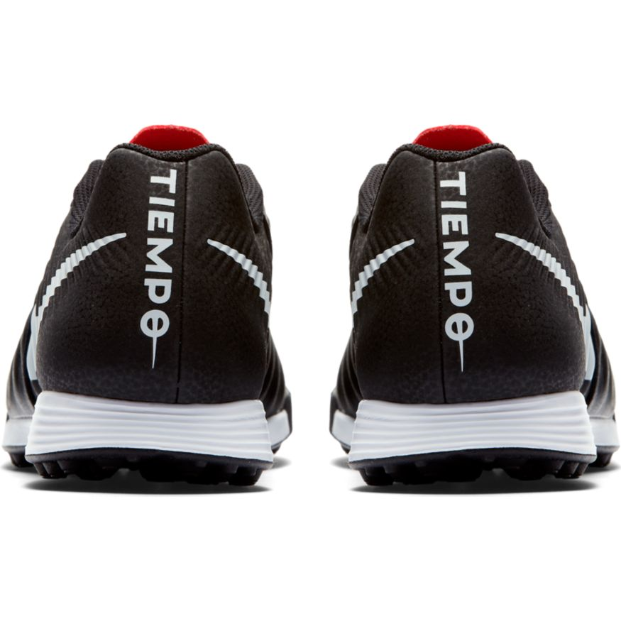 Nike-Scarpe-Calcio-Calcetto-Tiempo-LegendX-7-Academy-Nero-rosso-Turf miniatura 7